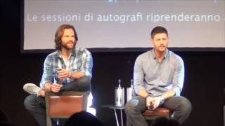 Jared and Jensen Saturday Panel (Part 2/3) Jibcon 2016