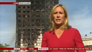 Grenfell Tower Fire - BBC News 6pm - Openers