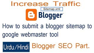 how to submit blogger sitemap in to search console