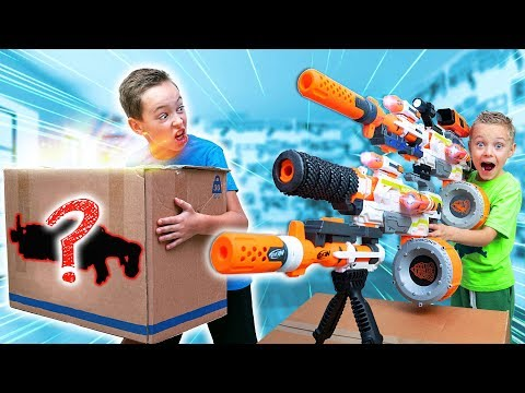 NERF Game MYSTERY Box of CRAZY BIG Nerf Blaster Combos