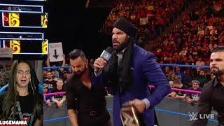 WWE Smackdown 10/17/17 Jinder Challenged Brock Lesnar