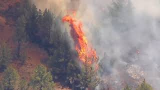 Sky 8 video: Graham wildfire in central Oregon