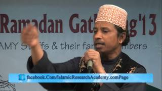 Lecture on Ramadan and  Halal Rizk  by Mufti Kazi ibrahim www IslamicResearc