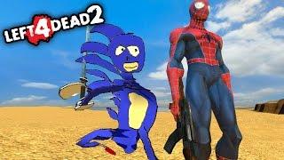 Left 4 Dead 2: El Señor de Los Anillos con ESPADAS & ARMAS! | L4D2 con Amigos (Funny Moments)
