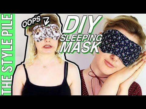DIY Sleeping Mask (HOLY SCRAP!) | Style Pile #19