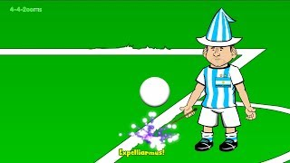 💫IRAN vs ARGENTINA 0-1💫 by 442oons (Lionel Messi World Cup 2014 Cartoon 21.6.14)