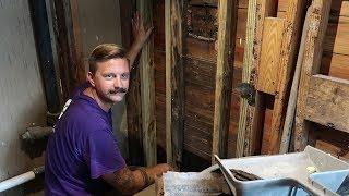 Bathroom DIY Renovation Update & Husband Doesn't Laugh At Wife's Jokes   Home Vlog