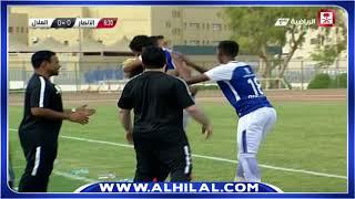 الهدف الوحيد للهلال على الأنصار عن طريق مشاري القحطاني - دوري كأس الأمير فيصل الجولة الأولى
