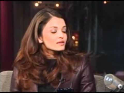 Aishwarya Rai on David Letterman Show