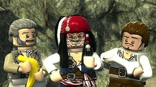 LEGO Pirates of the Caribbean Full Movie All Cutscenes The Video Game