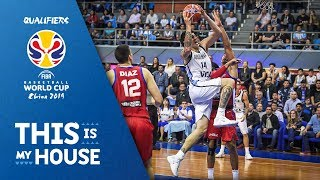 Gabriel Deck (21 PTS / 11 REB) vs Puerto Rico - FIBA Basketball World Cup 2019 - Americas Qualifiers