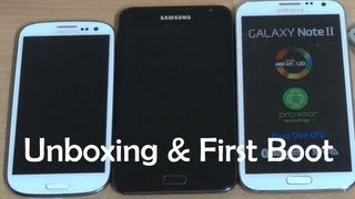 Samsung Galaxy Note 2 (Note II GT-N7100) - First Look and Unboxing (India) - Cursed4Eva.com