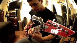 Metallica - Trapped under ice (Guitar Cover) WITH ALL 3 CORRECT SOLOS *HD*