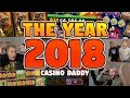 CasinoDaddy BIGGEST WIN 2018 - BONUS COMPILATION 2018