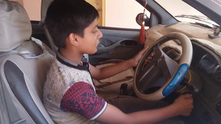 Indian young boy driving a car !  500k+ views