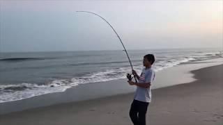 Shadhin caught a huge stingray!!