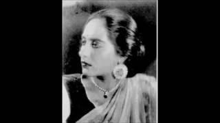 SAHELI (1942) -   Khamosh mohabbat ki khamosh kahaani hai -  Ratanbai