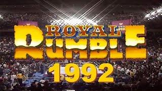 WWE Royal Rumble Match 1992