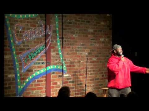 STARKS AT COMEDY OFF BROADWAY (stand up) 1-17-12