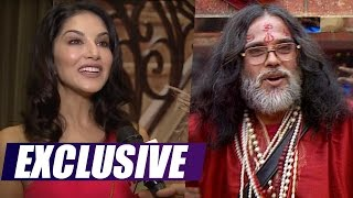 Exclusive! Sunny Leone reacts to Swami Omji's dirty comments