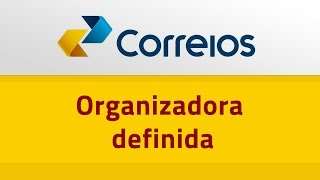 Correios - Organizadora Definida