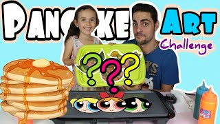 PANCAKE ART CHALLENGE!! - LAS SUPERNENAS reto - POWERPUFF GIRLS EDITION