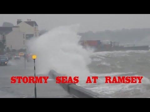 High Tide Grange Over Sands Cumbria 3 January 2014