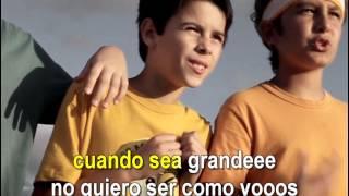 Cuarteto De Nos - Cuando sea grande (Official CantoYo Video)