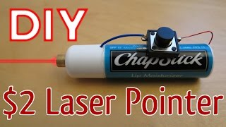 How to Make a Laser Pointer