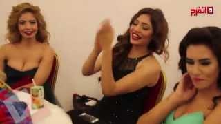 لحظات حرجة في اختبارات ملكات جمال مصر