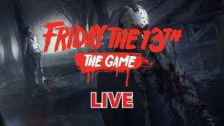 JANGAN SAMPE MATI !! - Friday the 13th : The Game [Indonesia] - LIVE