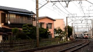 東武6050系区間快速新鹿沼行き 春日部では「4両」表示 春日部→北春日部