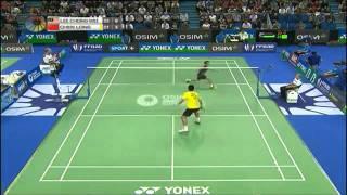 Lee Chong Wei vs. Chen Long - Yonex Badminton French Open 2011