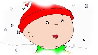 Funny Animated Cartoon | Caillou in the snow | Cartoons for Children | Cartoon Movie