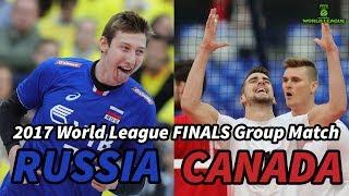 Russia vs  Canada - World League 2017 FINALS - ALL BREAKS REMOVED