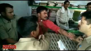 INDIAN THIFE SLAP POLICE IN PUBLIC