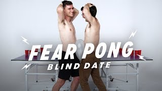 Blind Dates Play Fear Pong (Joe vs. Chris)   Fear Pong   Cut