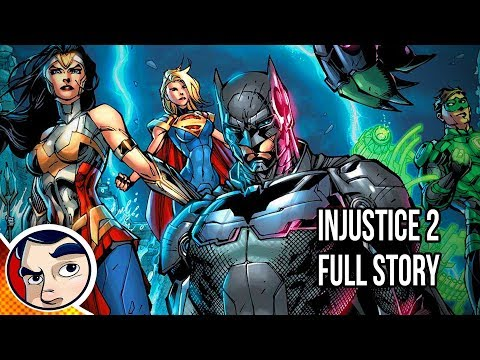 Injustice 2 Full Story Comicstorian