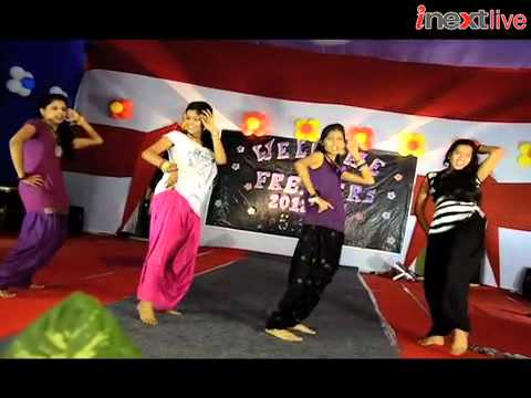 Freshers Party in Magadh Mahila College Patna