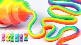 DIY HOW TO MAKE Dohvinci Play Doh Rainbow Clay Fun Toys