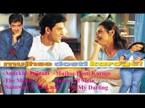 Super Romantic Songs | Hindi Movie | Mujhse Dosti Karoge | Hrithik | Kareena | Rani | FM Hindi Song