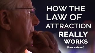 How The LAW of ATTRACTION Really Works | FREE Webinar