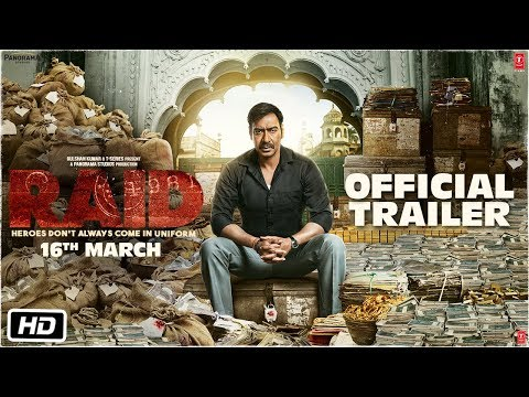 Download Raid | Official Trailer | Ajay Devgn | Ileana D'Cruz | Raj Kumar Gupta | 16th March