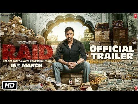 Xxx Mp4 Raid Official Trailer Ajay Devgn Ileana D Cruz Raj Kumar Gupta 16th March 3gp Sex