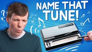 Can you guess 9 songs played on this tiny synthesizer?