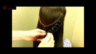 Feather Chain Braid Hairstyles, Hair for my princess  Beauty