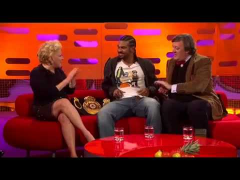 The Graham Norton Show 2010 S8x05 Bette Midler Stephen Fry David Haye Part 2