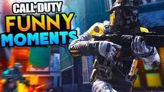 Infinite Warfare Funny Moments - Combat Rig Attacks, Killcams, Corpse Launches! (IW Beta)