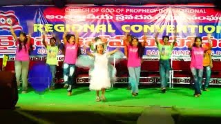Telugu Christian Children Action Song - Chinna Pillalam 10  - By Grace Home
