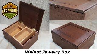 Walnut Jewelry Box